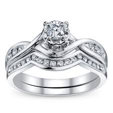 white gold wedding band sets bridal sets bridal ring sets matching diamond bridal rings and