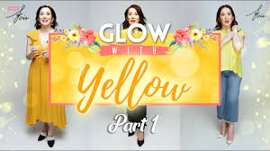 wear kris glow with yellow lookbook part 1 of 3 kris aquino