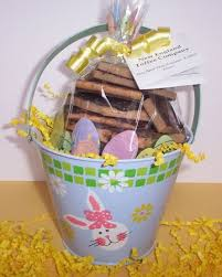 easter pail easter toffee candy gift ideas