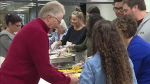 thanksgiving feast held at rejoice community church kmeg