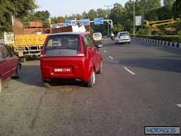 Mahindra Reva E20 Interior Mahindra Reva E2o Four Door Electric Vehicle Spotted In Bangalore
