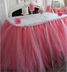 Pink Table Skirt by Compare Prices On Table Tutu Skirt Online Shopping Buy Low Price
