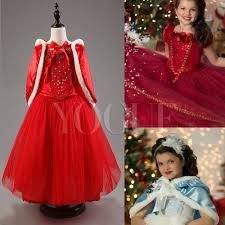 party princess dress cape girls party fancy dress kids costume