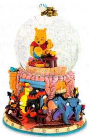 winnie the pooh menorah disney snowglobes collectors guide april 2009