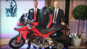 ferdinand porsche ducati multistrada 1200s d air receives the u201cprofessor ferdinand