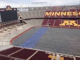 heating coils being installed at tcf bank stadium