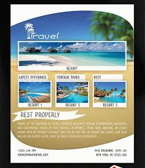 bus trip flyer templates free 47 best travel flyer images on