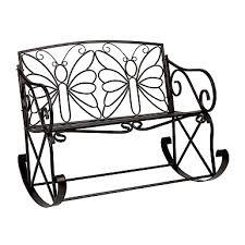 Butterfly Bench Black Butterfly Metal Patio Chair Kirklands