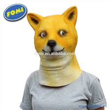 rubber halloween mask dog mask dog mask suppliers and manufacturers at alibaba com
