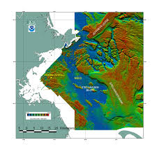 Map Of Boston Harbor by Backscatter Intensity Map Of Massachusetts Bay