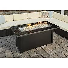 outdoor greatroom fire table amazon com outdoor greatroom company monte carlo fire table garden