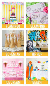 party themes for birthday party themes