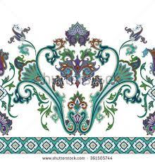 paisley ornamental design stock vector 34858414
