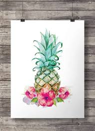 25 unique pineapple watercolor ideas on pinterest pineapple art