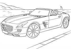 supercars coloring pages free printable pictures