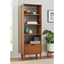 Modern Bookcase Furniture by Better Homes And Gardens Flynn Mid Century Modern Bookcase With