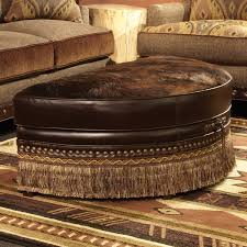 furniture leather sofa design with cowhide ottoman also glass