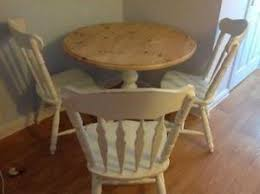 shabby chic round dining table shabby chic table and chairs ebay