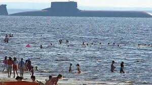 Russia U0027s Far East Rolls by Mega Sub World U0027s Biggest Submarine Ever Constructed Soviet