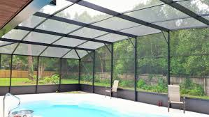 pool screen enclosures aluminum magic