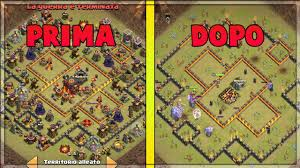 Tre Map Ho Preso Tre Stelle In War Base Antidue Per Th10 Youtube