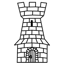 9 images of castle tower coloring pages printable castle tower