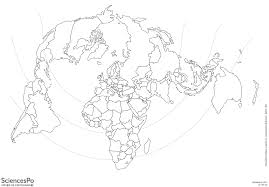 carte monde noir et blanc les fonds de carte officiels du programme de terminale l es