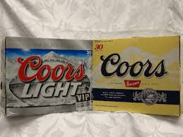 case of coors light coors light 30 pack cans