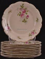 bond china pompadour vtg plate pompadour roses ebay