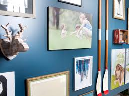 how to create a family friendly entryway gallery wall hgtv