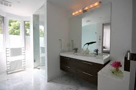 Beveled Bathroom Vanity Mirror Frameless Beveled Bathroom Mirror Bathrooms