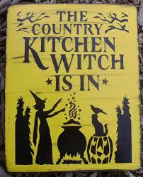 primitive country kitchen witch is in by sleepyhollowprims on zibbet