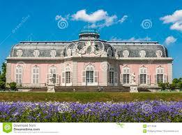 architektur dã sseldorf schloãÿ benrath in duesseldorf stockfoto bild 82718348