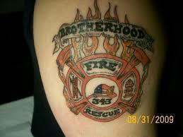 fire fighter tattoo tattoo boy