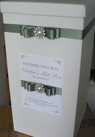wishing box wedding wedding wishing well reception card box 15 white embroidery card
