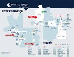 parking campus maps cookeville regional medical center