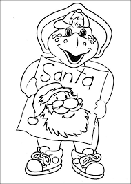 114 barney coloring pages images colouring