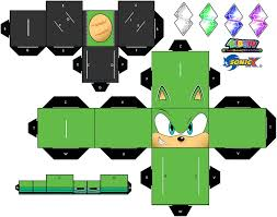 Sonic The Hedgehog Papercraft - scourge the hedgehog papercraft page 1 by xchosenone1 on deviantart