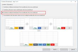 how to combine multiple workbooks to one workbook in excel