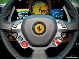 Ferrari 458 Interior - money earn free of cost ferrari 458 italia manettino