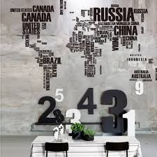 World Map Wall Poster by Aliexpress Com Buy Sell Well Letter World Map Quote Removable