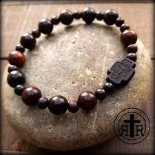 battle saints bracelets historical wwi combat rosaries soldier s rosaries strong