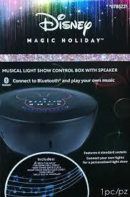 Holiday Brilliant Spectacular Light Show by Amazon Com Gemmy Disney Bluetooth Musical Light Show Control Box
