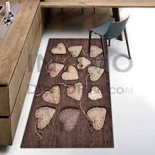 tappeti stile shabby tappeto passatoia cucina cuori shabby chic gommato antiscivolo