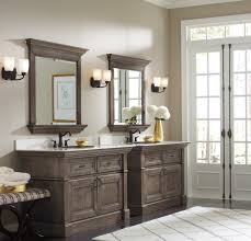 Bathroom Modern Ideas Double Vanity Mirrors For Bathroom This Neutral Master Features A