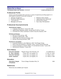 Sample Resume Usa by Appleone Sample Resumes