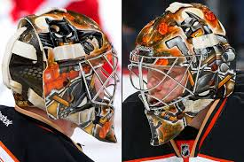 Nhl Standings Nhl Goalie Masks By Team 2016 Si Com
