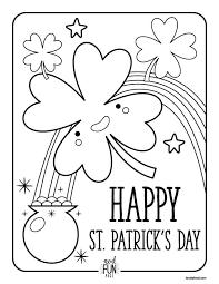 nod free printable coloring pages st patrick u0027s day saints