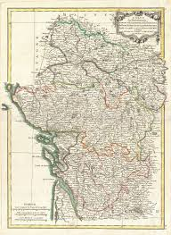 Loire Valley France Map by File 1771 Bonne Map Of Poitou Touraine And Anjou France