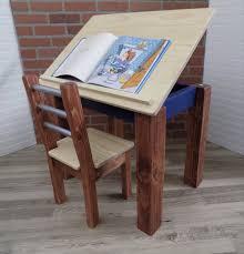 kids desk kids table art desk easel kids drafting table
